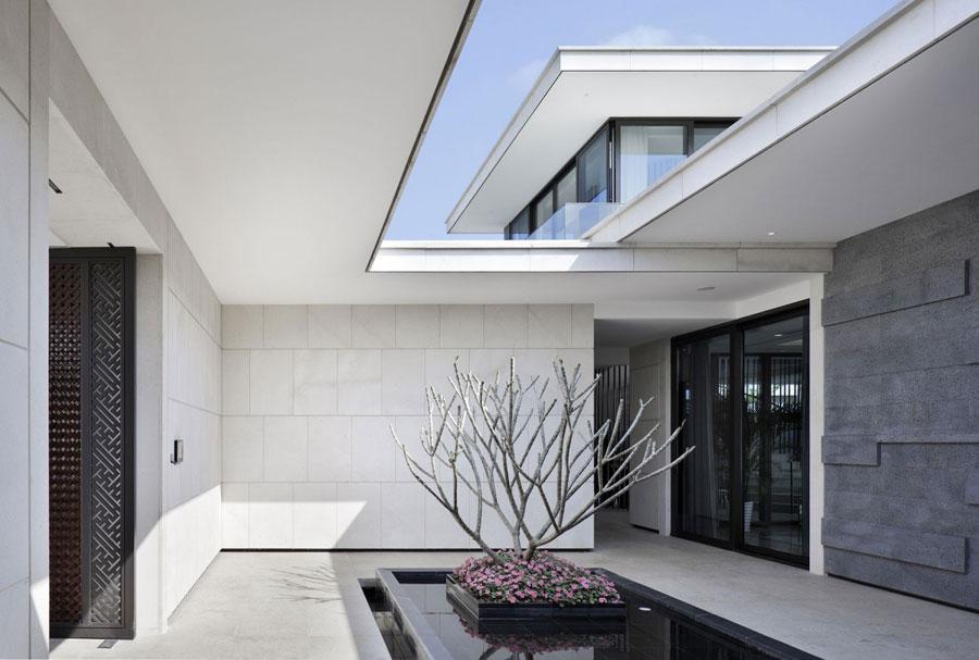 9 Modern kinesisk villa med lyxiga funktioner designad av Gad