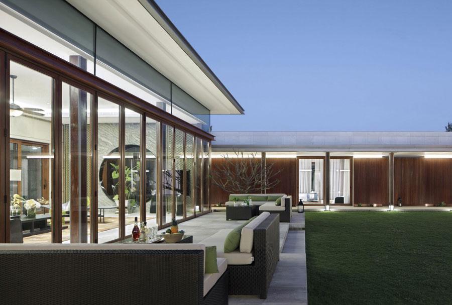 15 Modern kinesisk villa med lyxiga funktioner designad av Gad