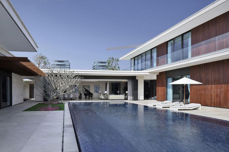 5 modern kinesisk villa med lyxiga funktioner designad av Gad