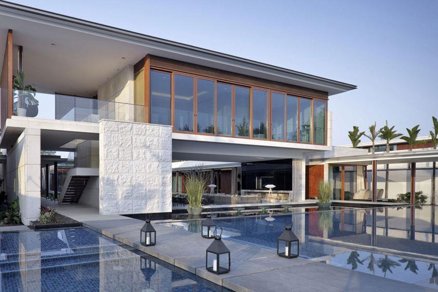 2 Modern kinesisk villa med lyxiga funktioner designad av Gad