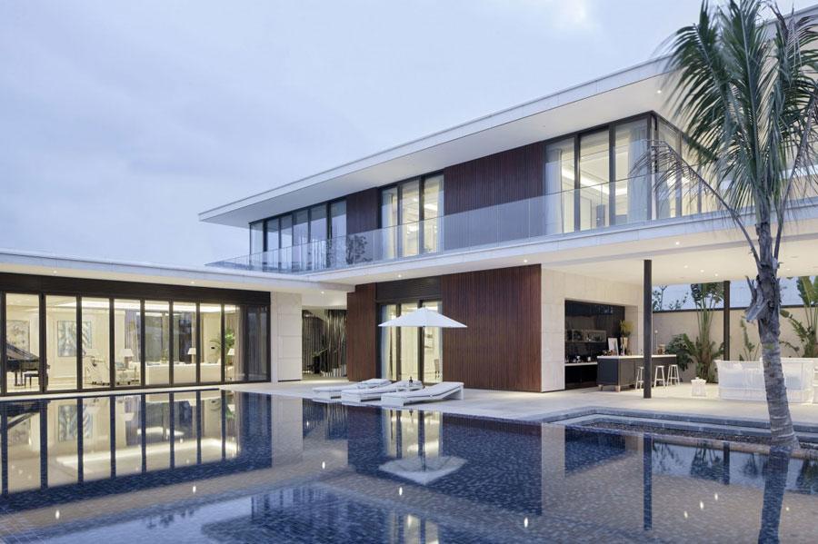 17 Modern kinesisk villa med lyxiga funktioner designad av Gad