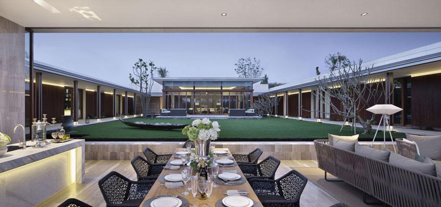 11 Modern kinesisk villa med lyxiga funktioner designad av Gad