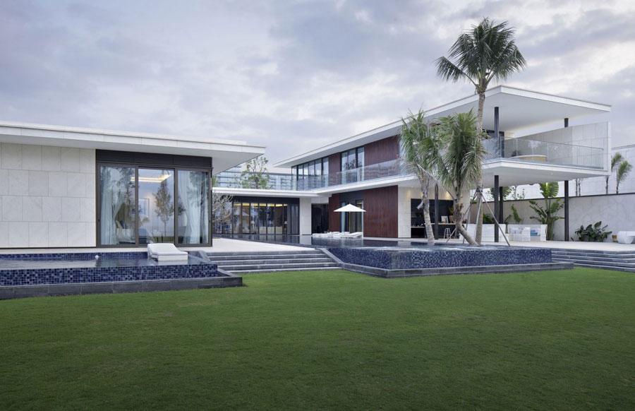 4 Modern kinesisk villa med lyxiga detaljer designade av Gad