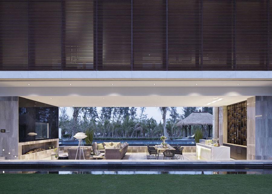 14 Modern kinesisk villa med lyxiga funktioner designad av Gad