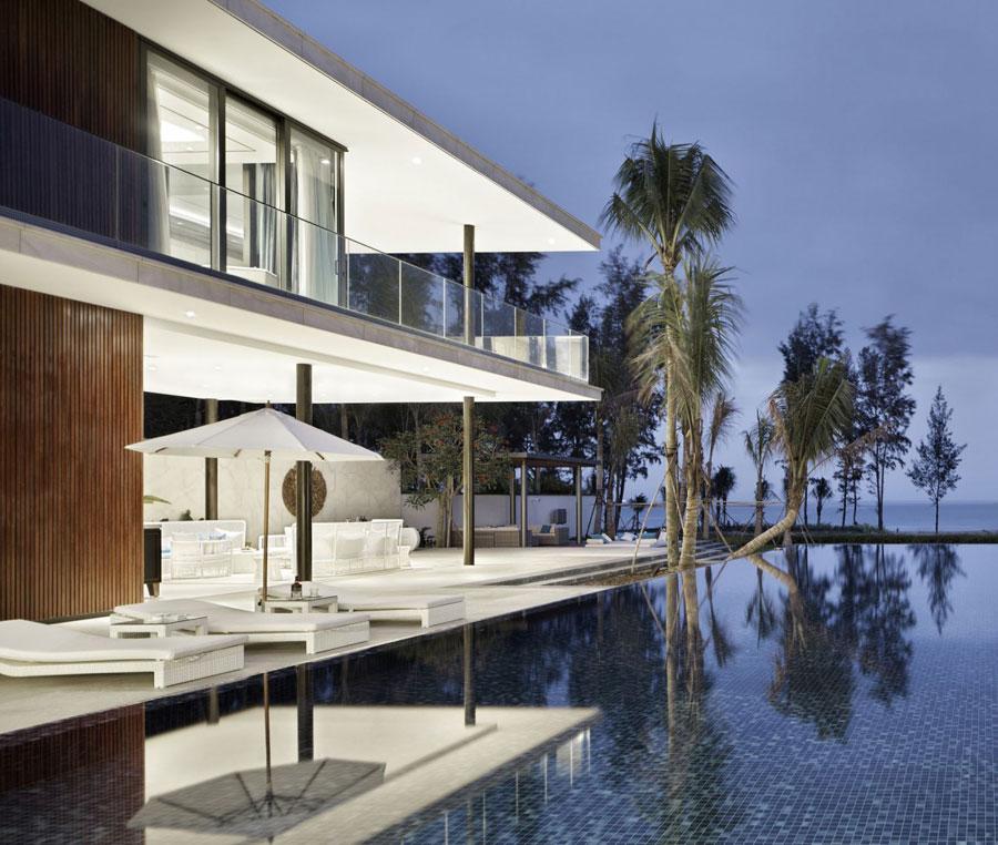 16 Modern kinesisk villa med lyxiga funktioner designad av Gad