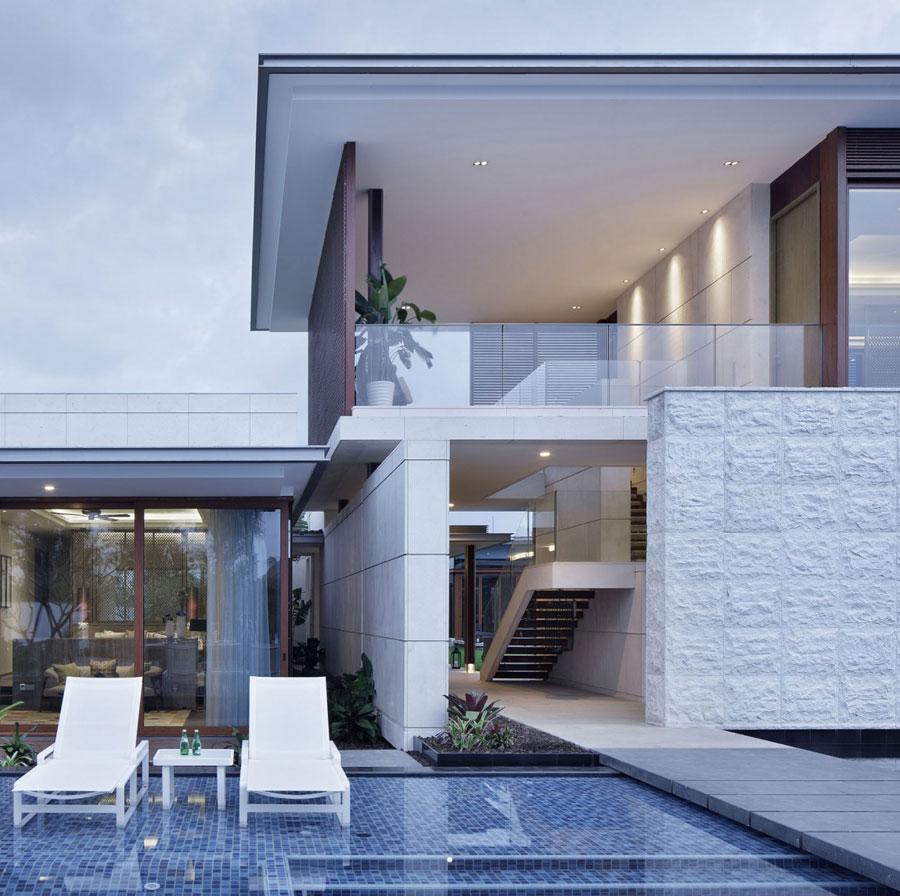 3 Modern kinesisk villa med lyxiga detaljer designade av Gad
