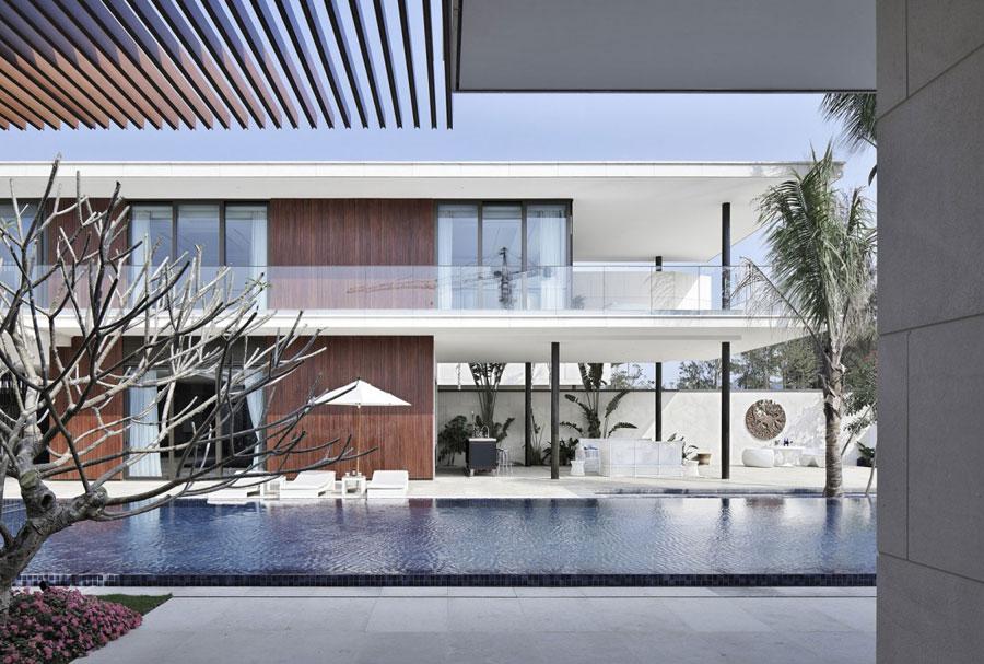 6 Modern kinesisk villa med lyxiga funktioner designad av Gad