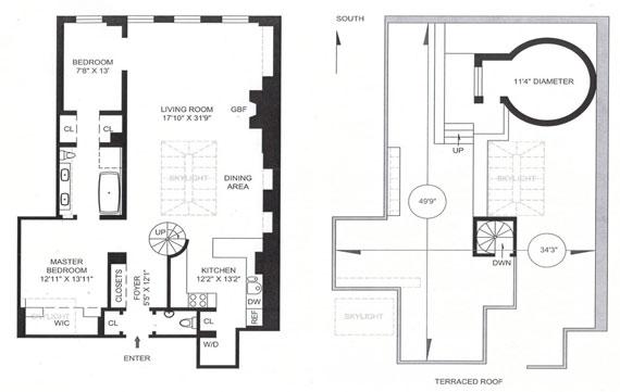 two9 Cool lägenhet i en anständig byggnad vid Greenwich Villages guldkust