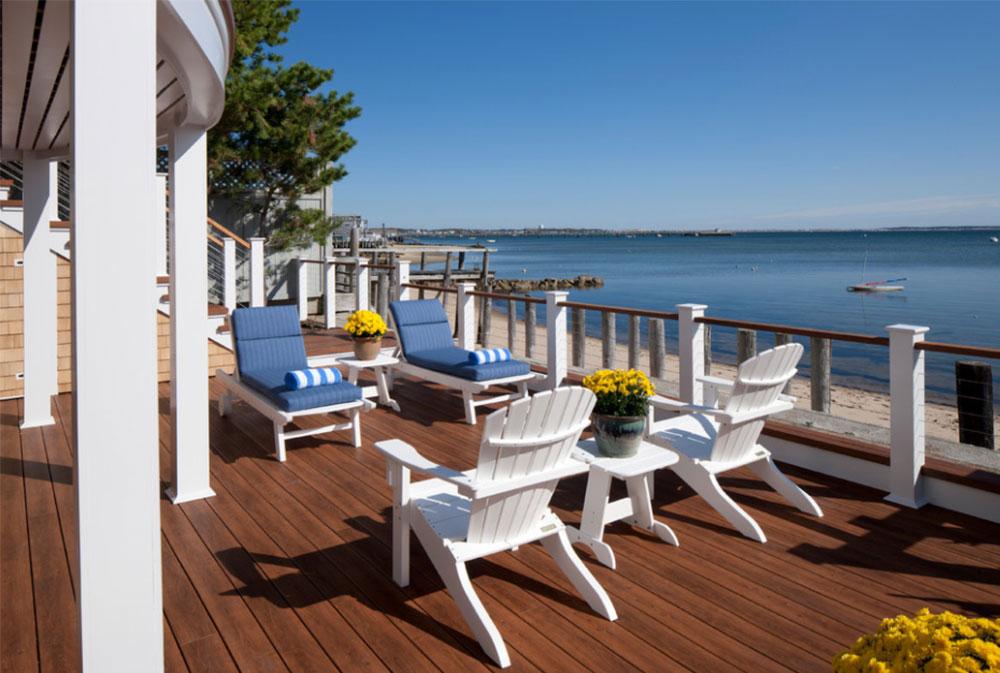 Provincetown-Beach-House-by-Peter-McDonald-Architect Beach House (Seaside) Möbler Designs
