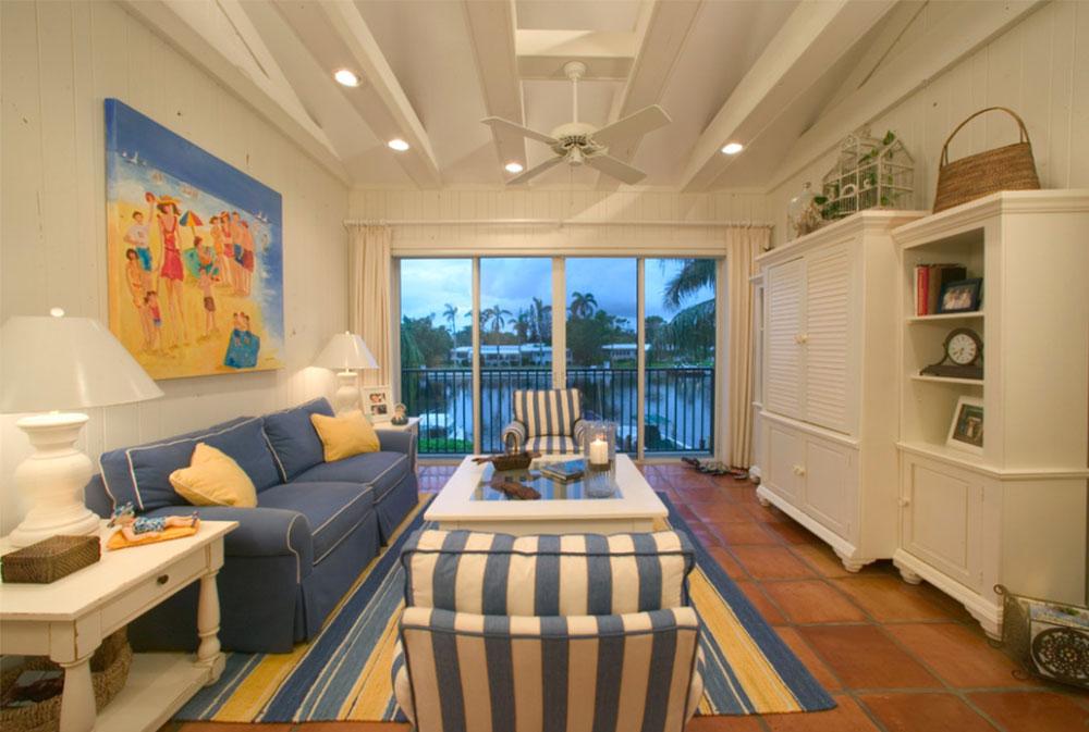 Beach-Cottage-Condo-by-Michelle-Cole-Designs Beach House (Seaside) Möbler Designs