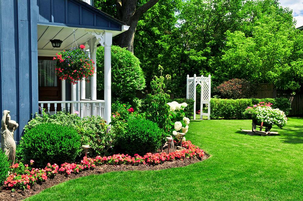 Trädgård Hur man gör ett hem mer lockande för en potentiell köpare