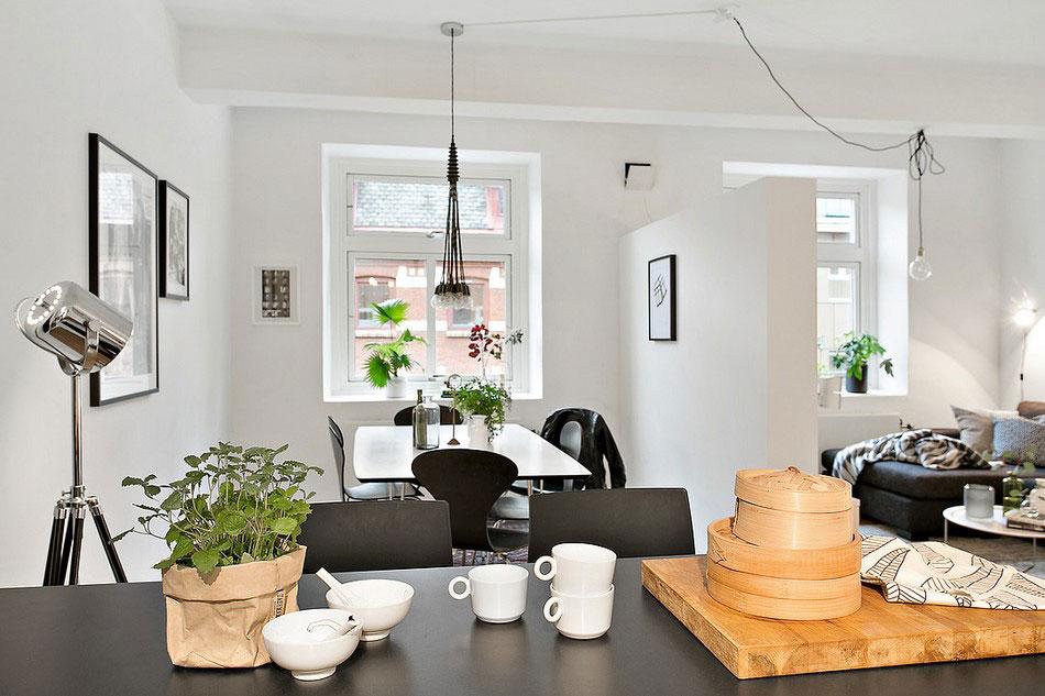 Mysig lägenhet i Göteborg som presenterar en vacker skandinavisk design 3 Mysig lägenhet i Göteborg presenterar en vacker skandinavisk design