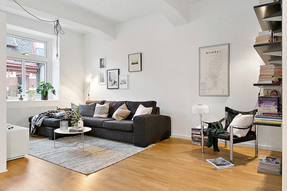 Mysig lägenhet i Göteborg som presenterar en vacker skandinavisk design 4 Mysig lägenhet i Göteborg presenterar en vacker skandinavisk design