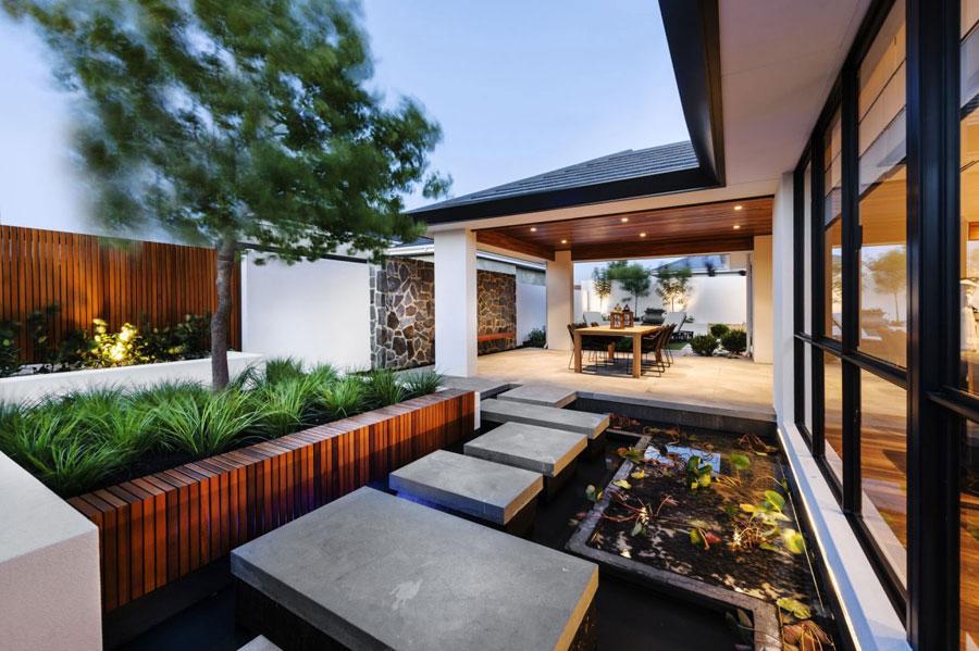 12 Post-modernt hus med japanska inslag av Webb & Brown-Neaves