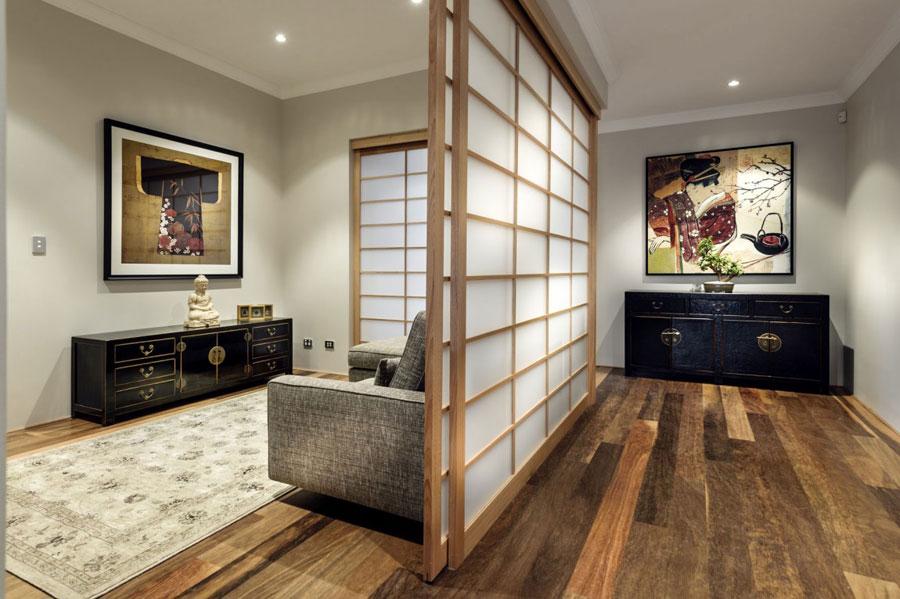 4 Postmodernistiskt hus med japanska inslag av Webb & Brown-Neaves