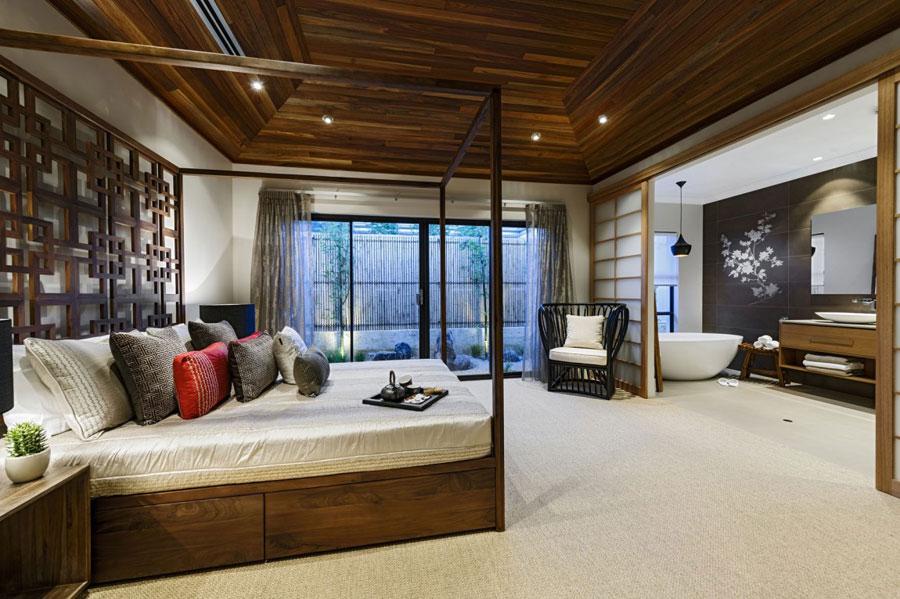 9 Post-modernistiskt hus med japanska inslag av Webb & Brown-Neaves