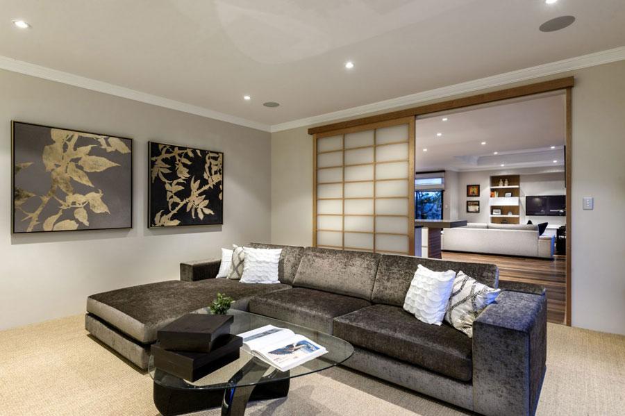 5 Postmodernistiskt hus med japanska inslag av Webb & Brown-Neaves