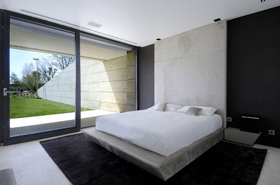 m14 hus med exteriör i marmor designat av A-Cero i Pozuelo de Alarcón, Madrid