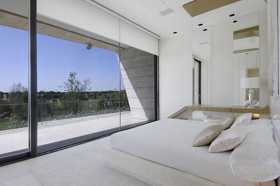 m15 Hus med marmor exteriör designat av A-Cero i Pozuelo de Alarcón, Madrid