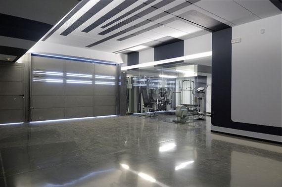 hus m23 med exteriör i marmor designat av A-Cero i Pozuelo de Alarcón, Madrid