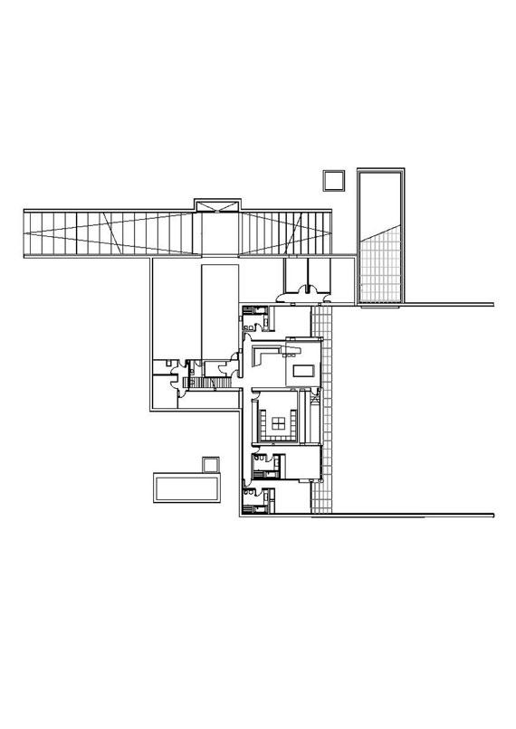 m26 Hus med marmor exteriör designat av A-Cero i Pozuelo de Alarcón, Madrid