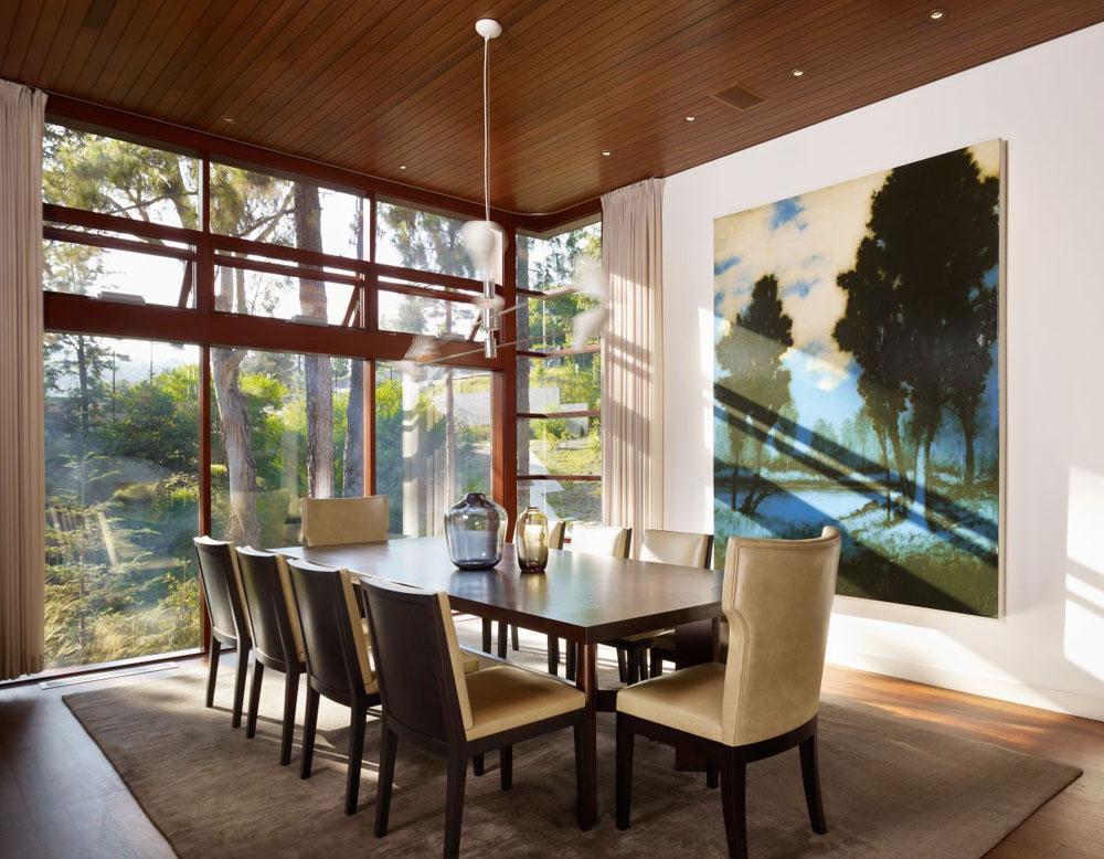 Lyxigt hem omgivet av träd som kompletterar dess eleganta möbler 12 Lyxigt hem omgivet av träd som kompletterar dess eleganta möbler