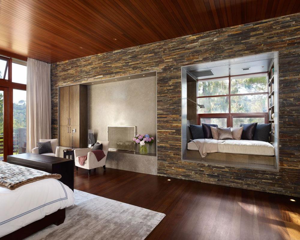 Lyxigt hem omgivet av träd som kompletterar dess eleganta möbler 14 Lyxigt hem omgivet av träd som kompletterar dess eleganta möbler