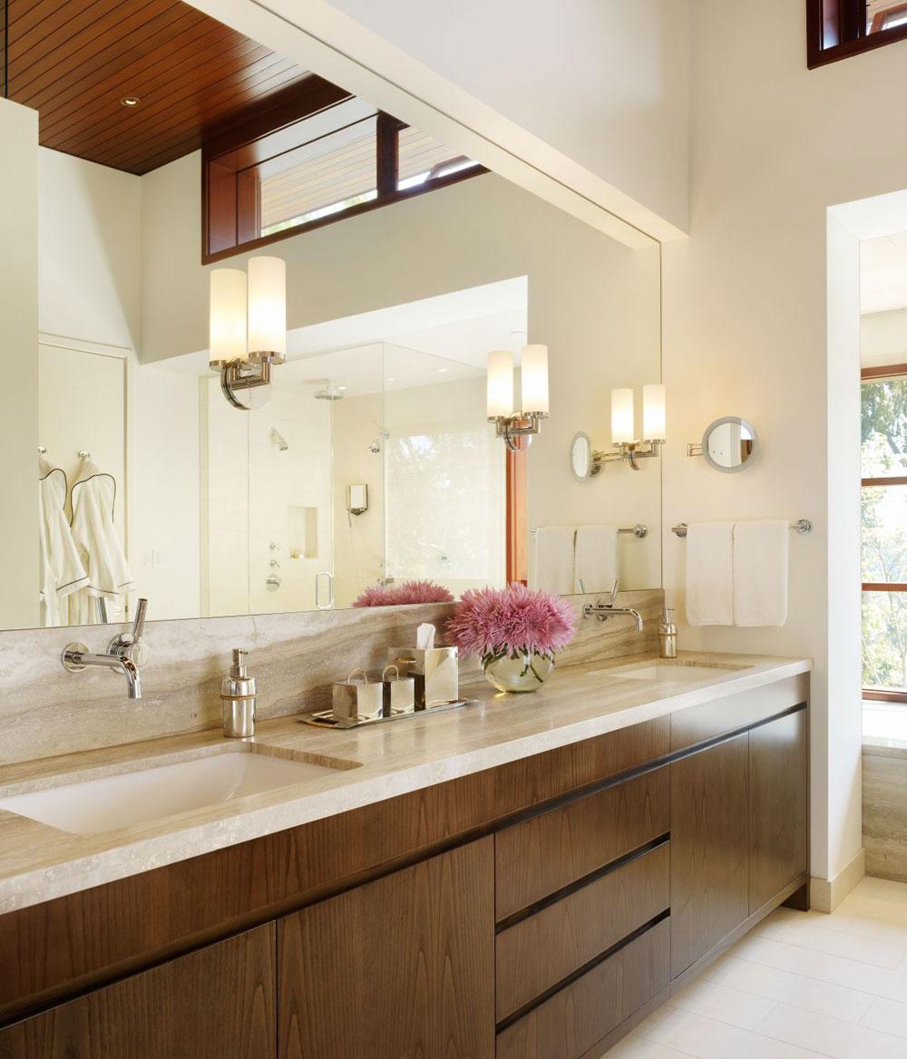 Lyxigt hem omgivet av träd som kompletterar dess eleganta möbler.  16 Lyxigt hem omgivet av träd som kompletterar dess eleganta möbler