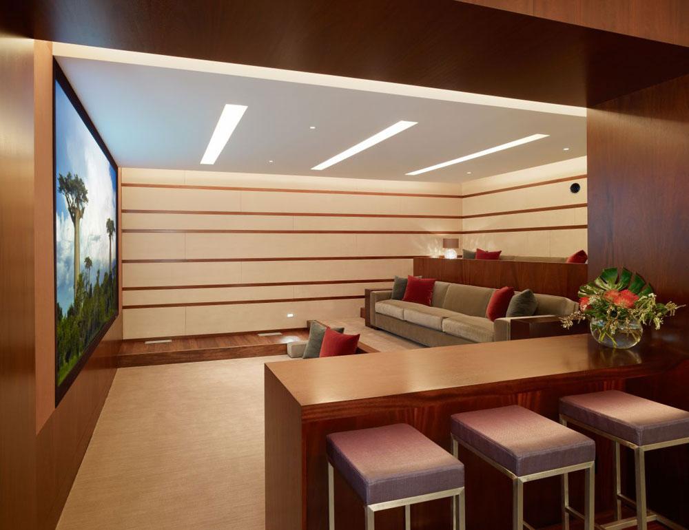 Lyxigt hem omgivet av träd som kompletterar dess eleganta möbler.  18 Lyxigt hem omgivet av träd som kompletterar dess eleganta möbler