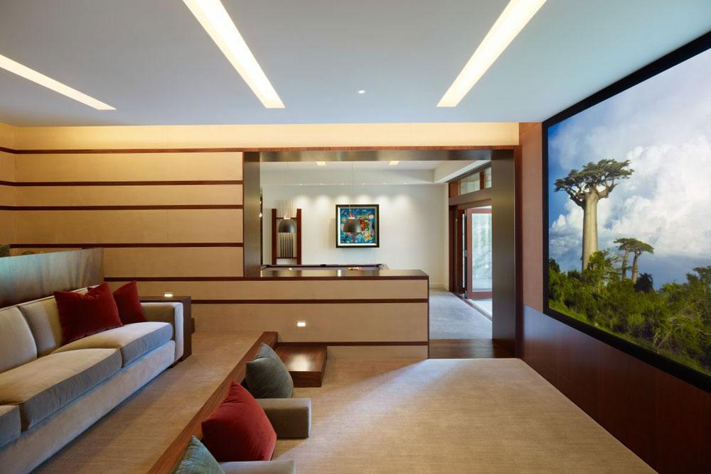 Lyxigt hem omgivet av träd som kompletterar sina eleganta möbler 17 Lyxigt hem omgivet av träd som kompletterar dess eleganta möbler