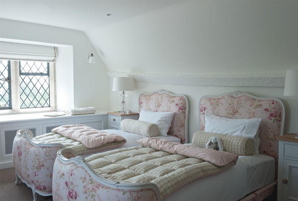 Bild 15-5 prinsessa sovrum idéer för små flickor