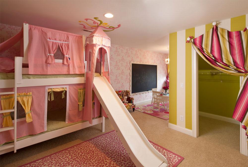 Bild 10-5 prinsessa sovrum idéer för små flickor