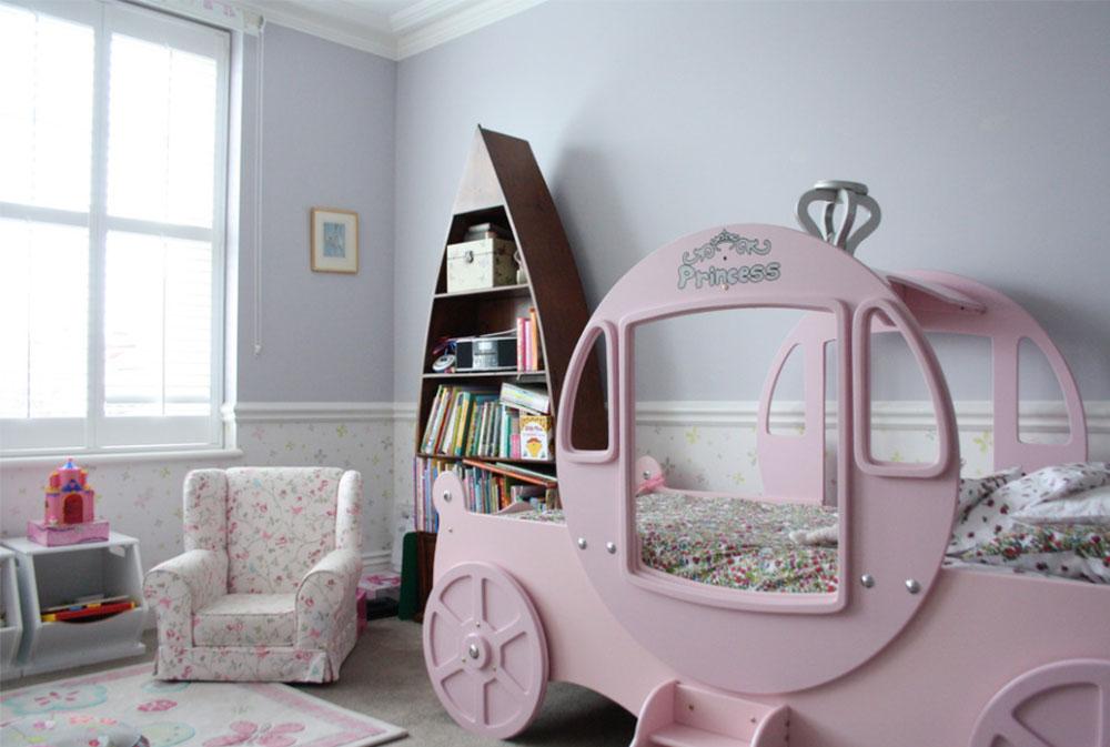 Bild 6-5 prinsessa sovrum idéer för små flickor