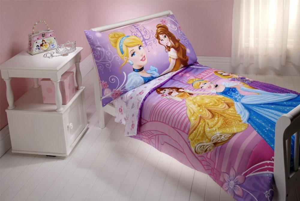 Bild 4-5 prinsessa sovrum idéer för små flickor