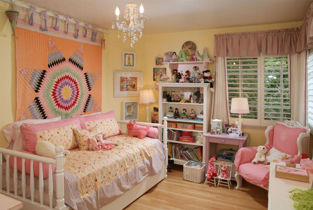 Bild 7-5 prinsessa sovrum idéer för små flickor
