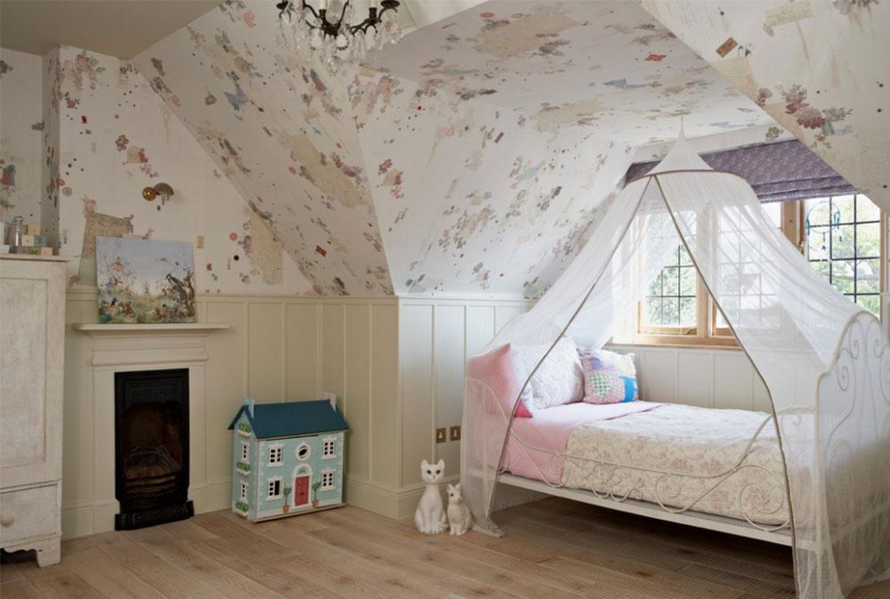 Bild 13-5 prinsessa sovrum idéer för små flickor
