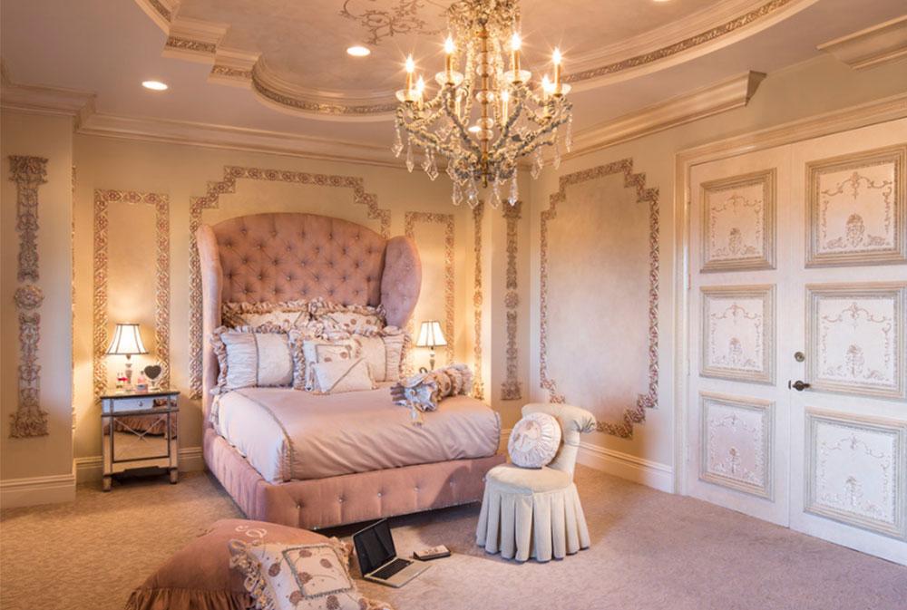 Bild 5-5 prinsessa sovrum idéer för små flickor