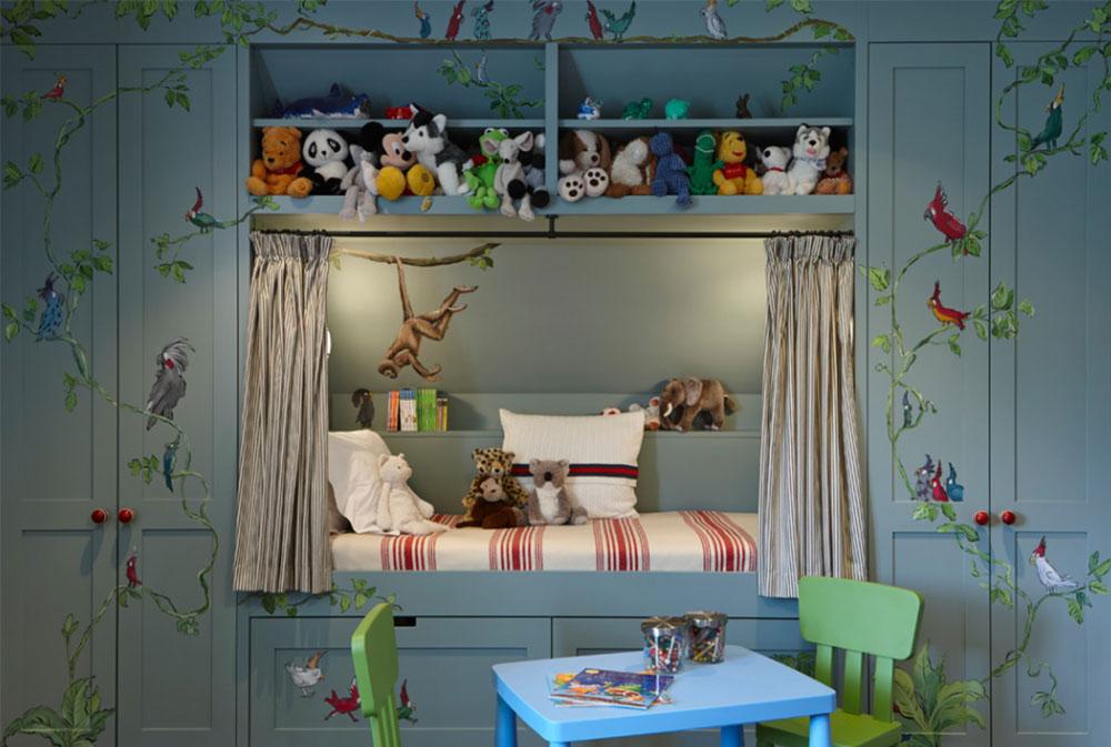 Bild 8-5 prinsessa sovrum idéer för små flickor