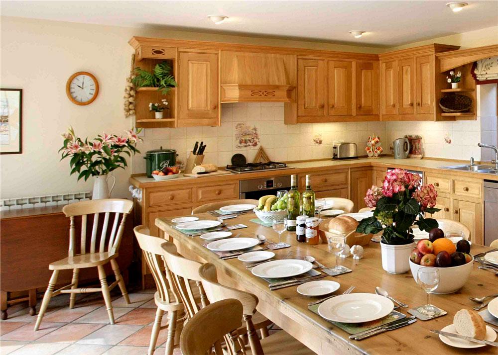 The-Kitchen Skönheten i heminredning i engelsk stil