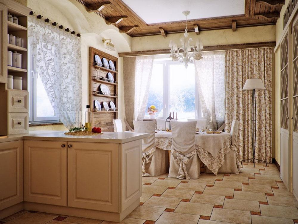 The-Dining-Room Skönheten i heminredning i engelsk stil