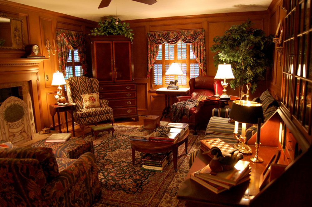 Living Spaces Skönheten i heminredning i lantlig stil