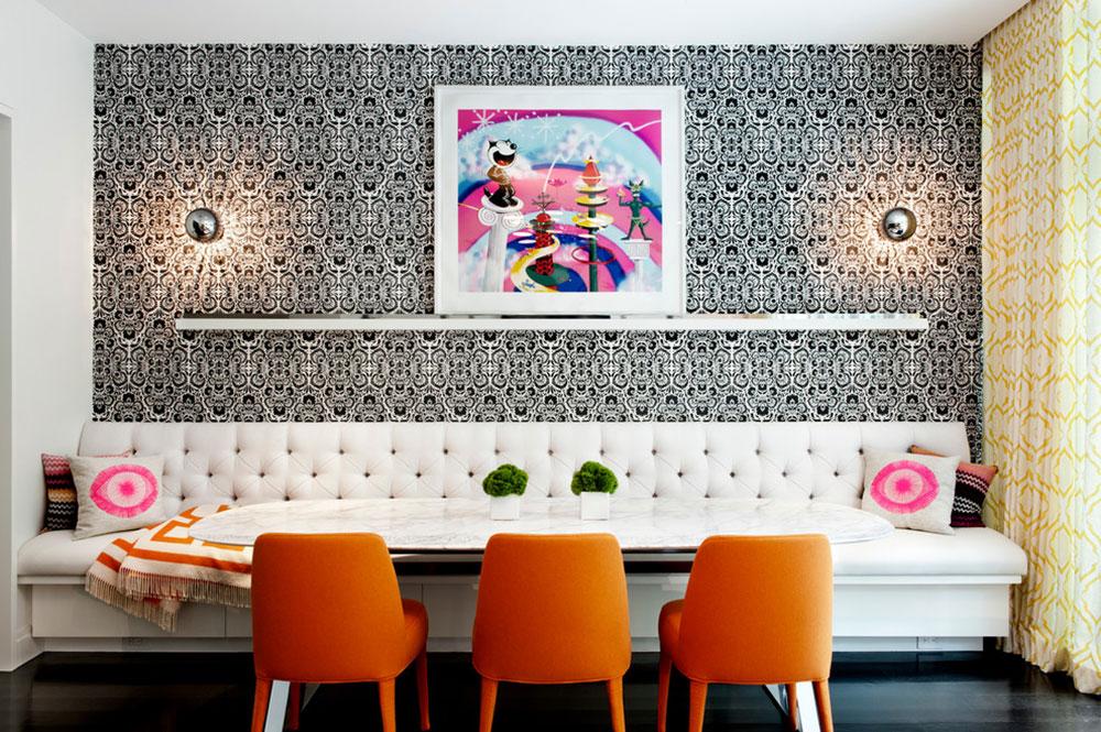 Köksbänk sittplatser som samlar hela familjen 11 köksbordsstolar som samlar hela familjen