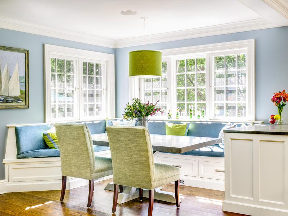 Köksbordbänkar som sammanför hela familjen 16 köksbordbänkar som sammanför hela familjen