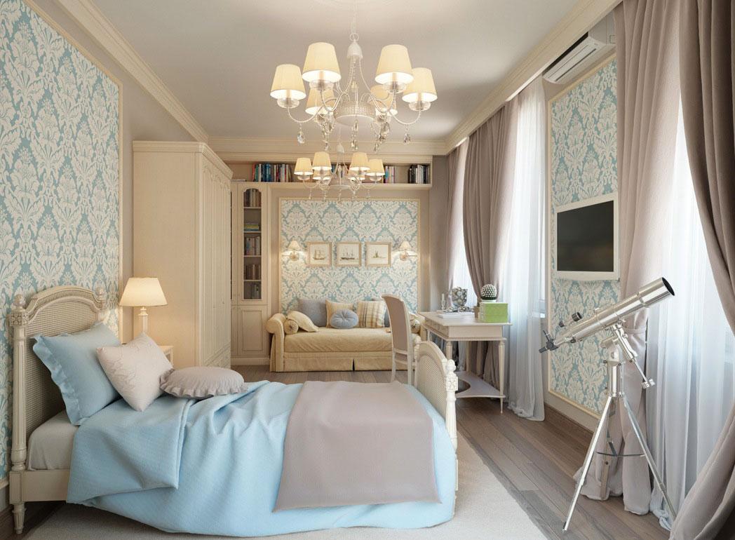 Experiment-i-färg-mönster-och-konsistens Vackra rum tapetidéer för ditt hem