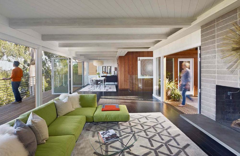 Grönt Hur man designar ditt vardagsrum - en användbar guide