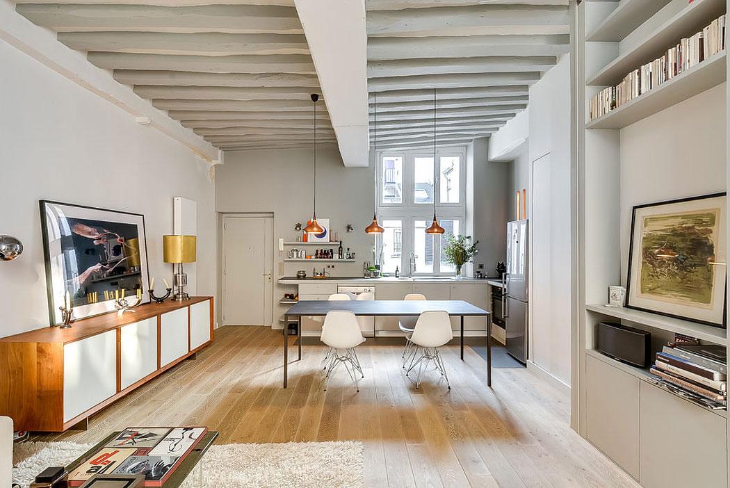 Modern lägenhet i Paris designad av den franska inredningsarkitekten Tatiana-Nicol-3 Modern lägenhet i Paris designad av den franska inredningsarkitekten Tatiana Nicol