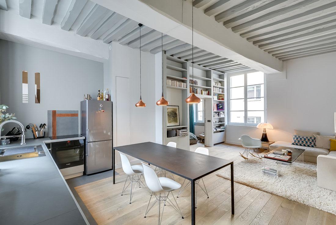 Modern lägenhet i Paris designad av den franska inredningsarkitekten Tatiana-Nicol-6 Modern lägenhet i Paris designad av den franska inredningsarkitekten Tatiana Nicol