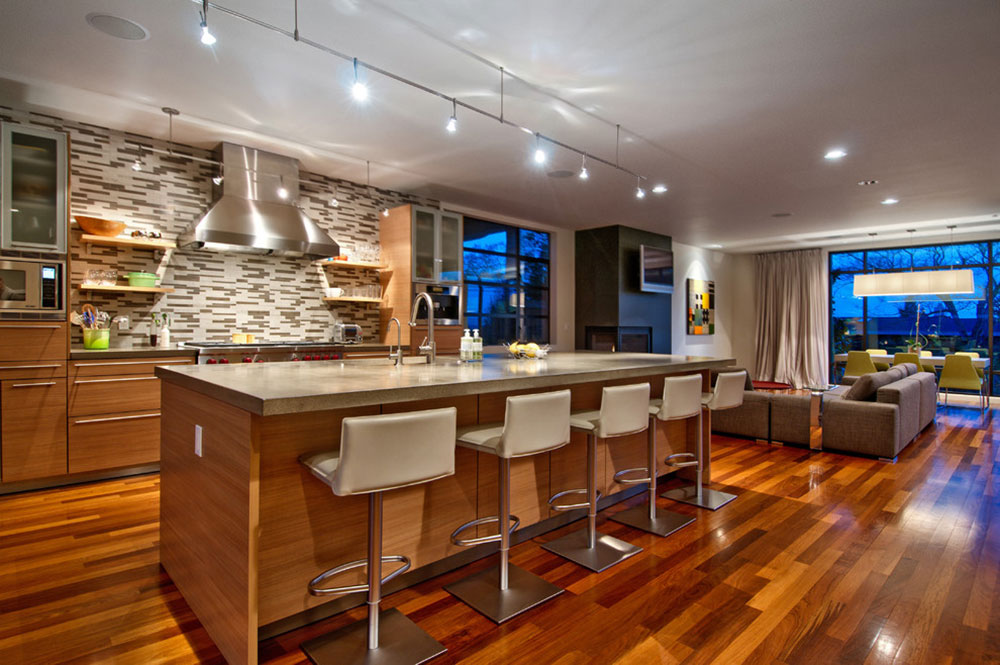 Moderna köksödesigner med sittplatser-4 Moderna köksödesigner med sittplatser