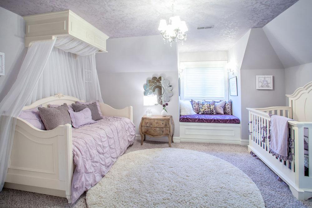 Fransk-land-europeisk stil-Hem-av-MJ-Whelan-konstruktion Lavendelfärgen och färgerna som passar till lavendel