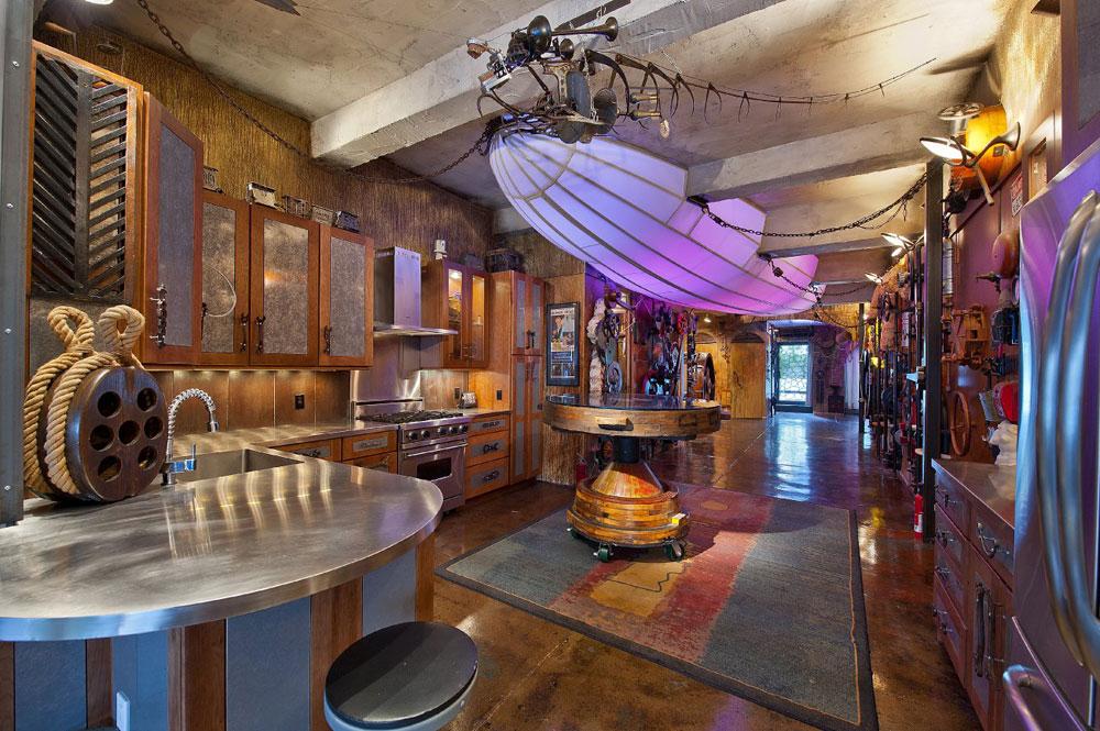 Steampunk-interiör-design-stil-och-dekoration-idéer-5 Steampunk interiör design-stil och dekoration-idéer